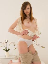 Pavla Gets Naked