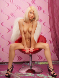Nude Blonde Angel