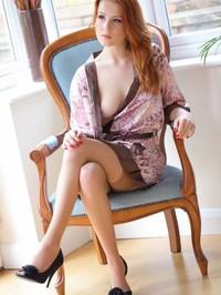 Scarlot Rose erotic stockings