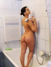 Eve Taking Shower