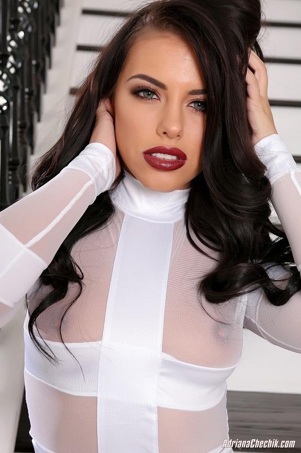 Adriana glass dildo