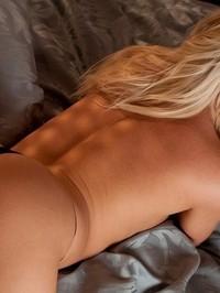 Niki Lee black bra and panties