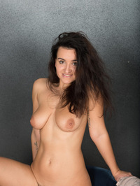 Busty In The Studio