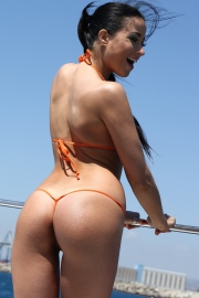 Sexy Young Bomshell Taissia Shanti Strips On The Boat