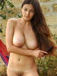Sofia A melon shaped breasts