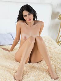 Soft, silky smooth skin, long, jet-black hair