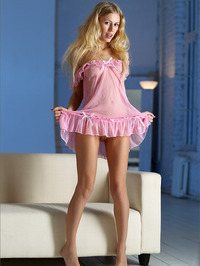 Candice in Pink Nighty
