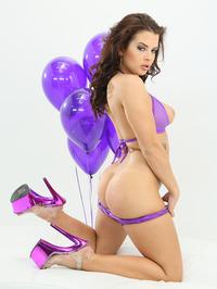 Keisha Grey Purple