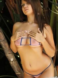 Chrissy Semi Sheer Bikini