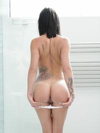 Peta Jensen Strips In The Bathroom