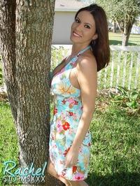 Rachel Storm In The Garden