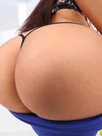Hot Assed Brunette Sasha Strips