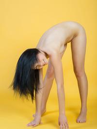 Cute Teen Beauty Yvonne Nude In The Studio