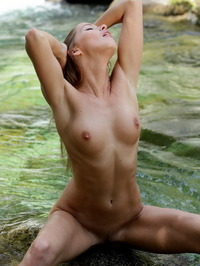 Irena wet pussy and tits