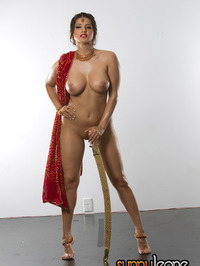 Sunny Leone samurai