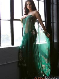 Sunny Leone National Dress