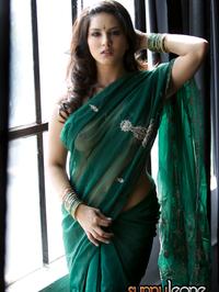 Sunny Leone Traditional Dress
