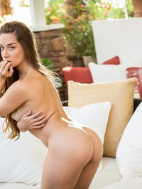 Naughty Babe Cassidy Klein Strips And Masturbates