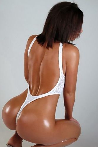 Rachael In White Thong
