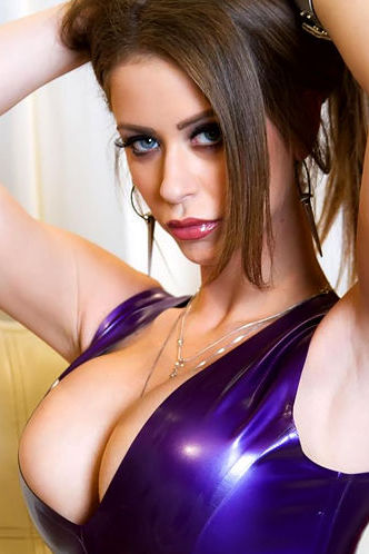 Emily Addison Purple Dress