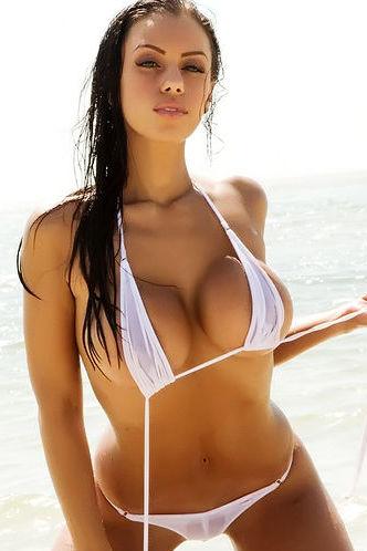 Busty Beauty In Bikini