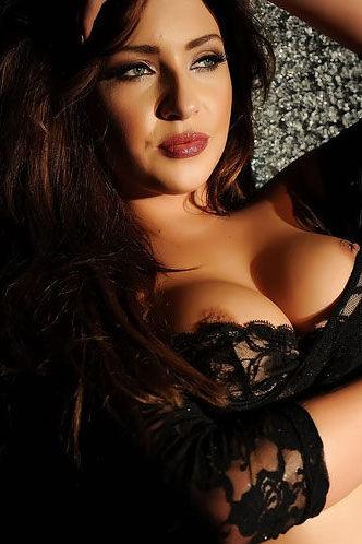 Gracie Lewis Sexy Black Lace