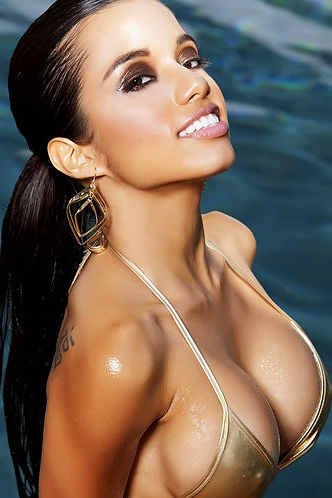 Lupe Fuentes Poolside Fun