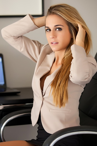 Hot Office Girl Cassidy Cole
