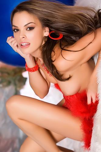 Renee Diaz Red Lingerie