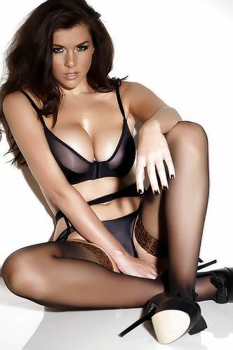 Imogen Thomas In Sexy Lingerie