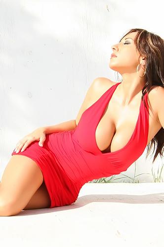 Diana Yvette Red Dress