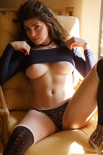 Busty Babe Gillian Barnes