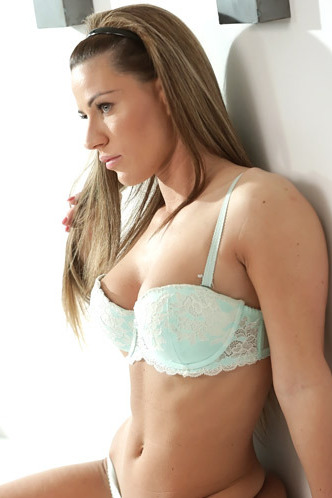 Athina Posing In Hot Lingerie