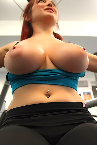 Tessa Fowler At The Gym