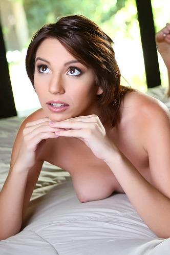 Brunette Hottie Cece Capella Spreads Her Pussy