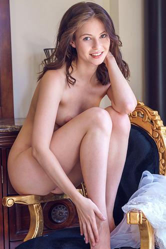 Enchanting Ukrainian Brunette, Hilary C
