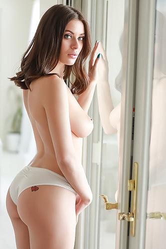 Lana Rhoades Strips Down