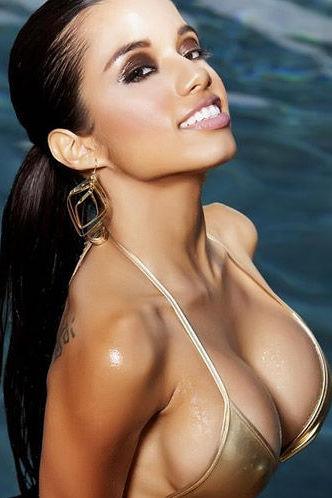 Lupe Gold Bikini