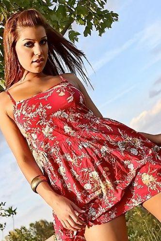 Briana Lee Red Dress