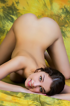 Busty Brunette Evita Lima