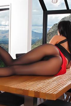 Sabrina Banks In Pantyhose