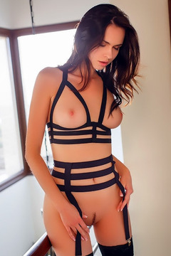 Nasita Sexy Black Lingerie
