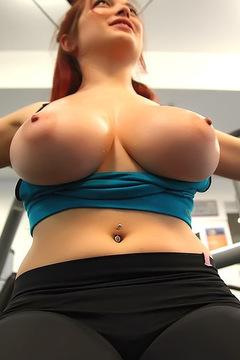 Tessa Fowler At The Gym