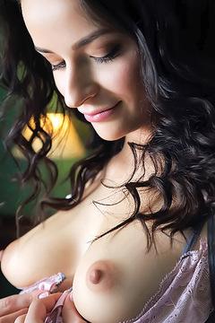 Ardelia Strips Off Her Sexy Babydoll