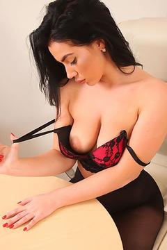 Hot Secretary Georgina