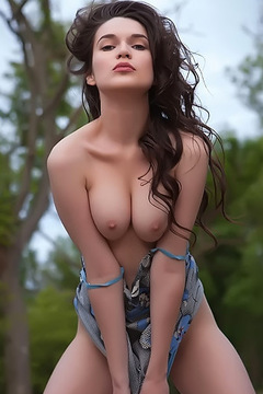 Busty Serena Wood