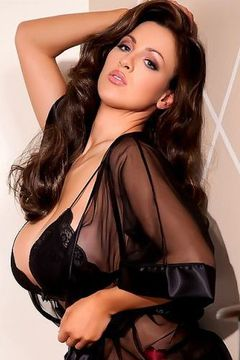 Jordan Carver black lingerie